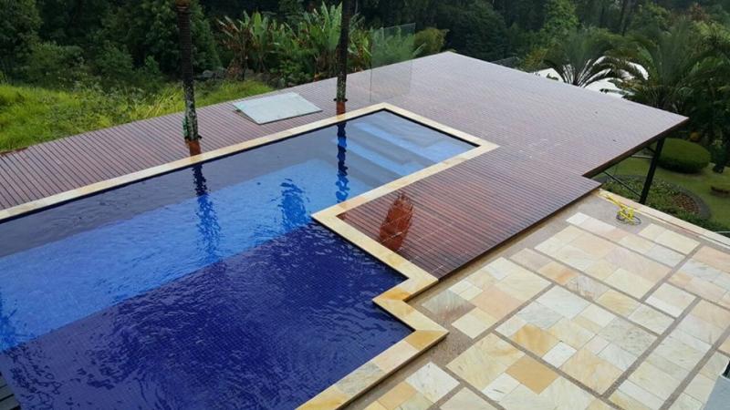 Impermeabiliza o de piscina elevada tecnoimp for Piscina de concreto