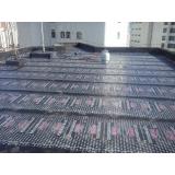 impermeabilização com banho de asfalto quente para laje Poá