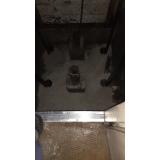 impermeabilização em poço de elevador de construção