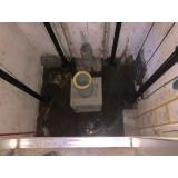 poço de elevador impermeabilização
