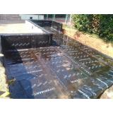 onde encontro impermeabilização para parede com asfalto quente Jardim Orly