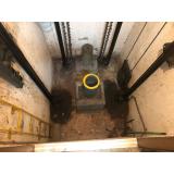 onde tem impermeabilização em poço elevador obra Jockey Club